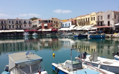 Rethymnon Port in Crete