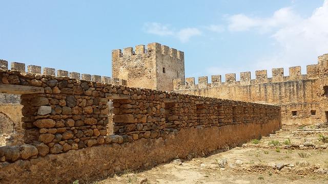 castle in Crete