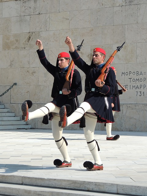 goose-step-in Athens