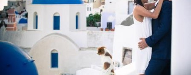 romantic moments in Greece