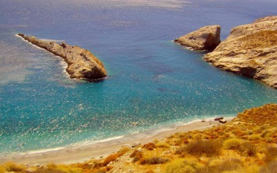 katergo beach folegandros greece