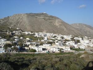 emporio village in Santorini