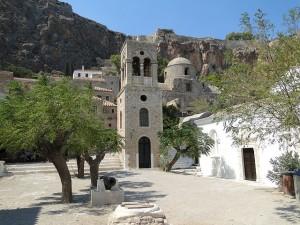 greek honeymoon  in monemvasia