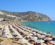 mykonos beach greek honeymoon