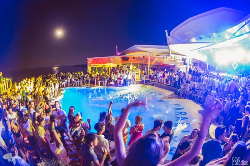 mykonos beach parties